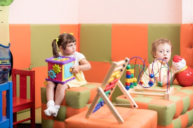 Medical Practice Interior - Childrens Play-area