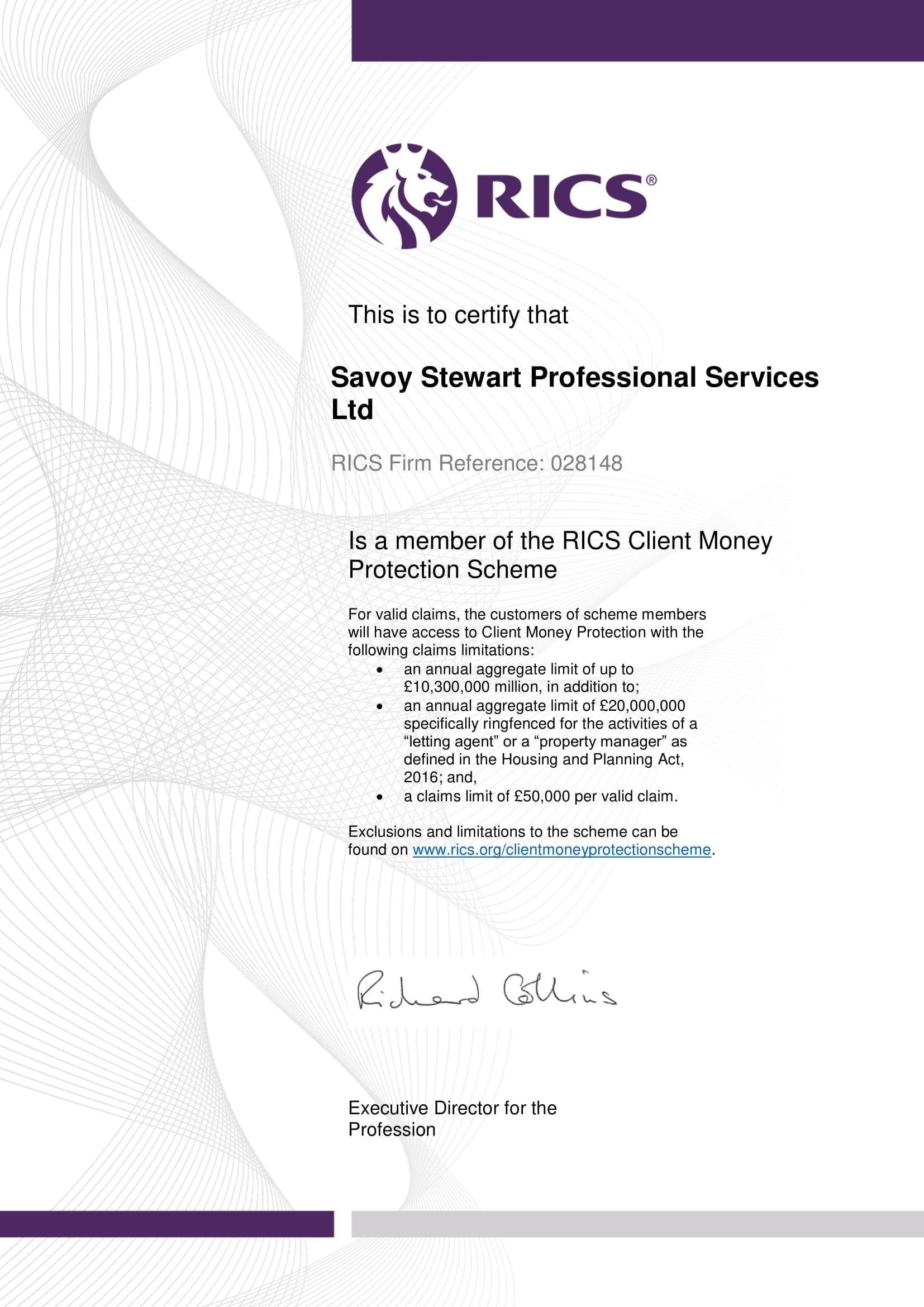 Property Management - Savoy Stewart