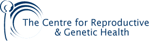 the center for reproductive and genetic health logo