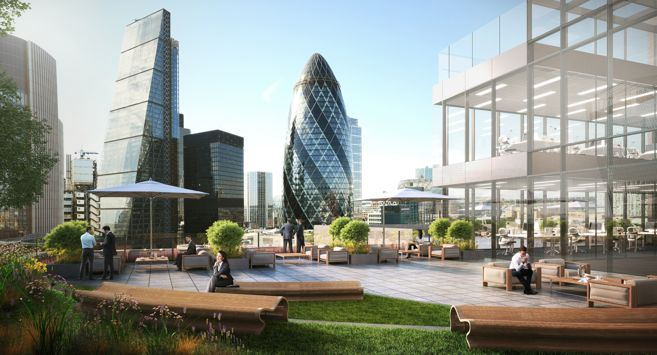 London S Office Rooftop Gardens
